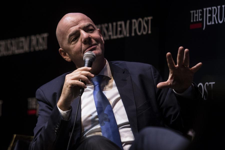 FIFA: Πρόταση από Ινφαντίνο για συνδιοργάνωση Μουντιάλ από Ισραήλ και Παλαιστίνη