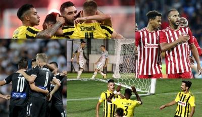 Super League 2021-22: Ολυμπιακός, ΠΑΟΚ, ΑΕΚ, Παναθηναϊκός και Άρης αλλάζουν τη... μουσική της σεζόν και η νέα μελωδία υπόσχεται πολλά!