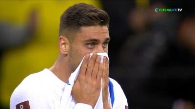 Τα δάκρυα του Μαυροπάνου μετά τη λήξη του αγώνα… (video)