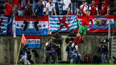 Πορτογαλία – Λουξεμβούργο 5-0: One man show με χατ τρικ του Ρονάλντο! (video)