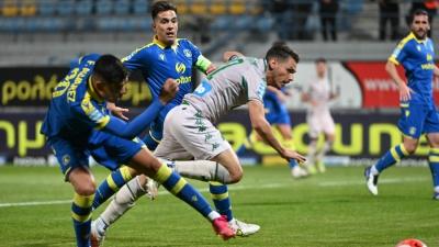 Αστέρας Τρίπολης – Παναθηναϊκός 2-1: Δεν υπέταξε τον κακό του δαίμονα και αγνόησε το «διπλό» ξανά!