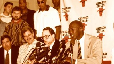 Το πρώτο «αντίο» του θρυλικού Μάικλ Τζόρνταν στο μπάσκετ ήταν για το... μπέιζμπολ