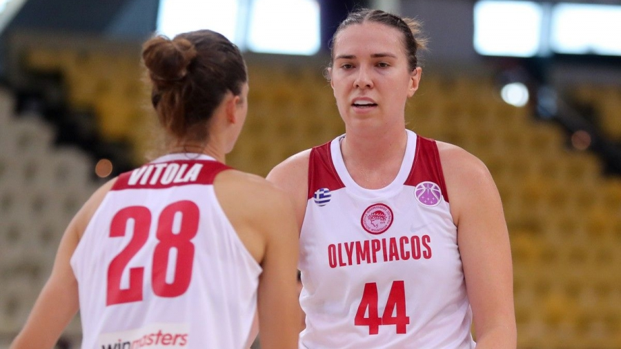 Ολυμπιακός - Μπίντγκοζ 103-68: Επιβλητικές οι ερυθρόλευκες στην πρεμιέρα του EuroCup γυναικών!